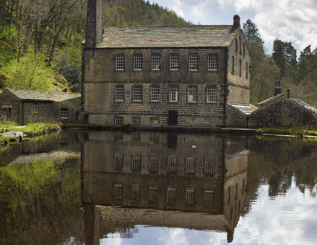 Yorkshire Mill with Pond